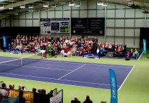 The Shrewsbury Club has successfully staged a number of tennis tournaments. Photo: Richard Dawson Photography