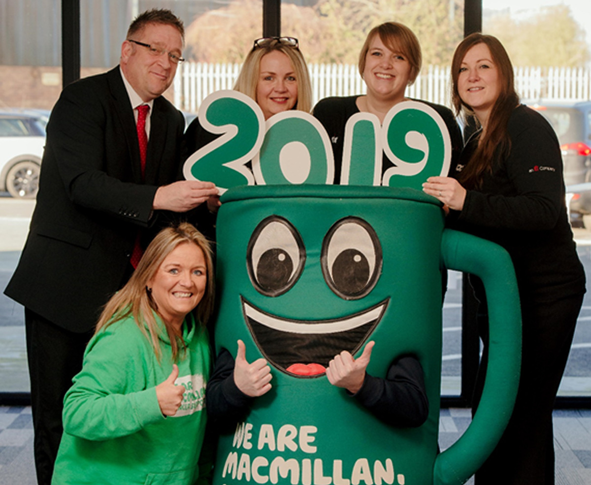 Kate Thomas - Macmillan Cancer Support, Damian Parry - Operations Administrator, Dave Jennings – Technical Advisor, Jane Pritchard -Finance Clerk, Jo White – Marketing Manager and Emma Ferguson - Internal Sales