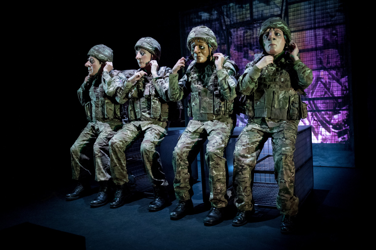 Vamos Theatre has collaborated with Veterans, serving personnel, military families and health professionals in the making of A Brave Face
