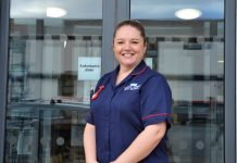 Leanne Morgan, Ward Manager, Bishop's Castle Community Hospital