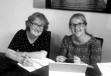 Mother and daughter team at Martin & Jones Marketing- Janet Jones and Ruth Martin