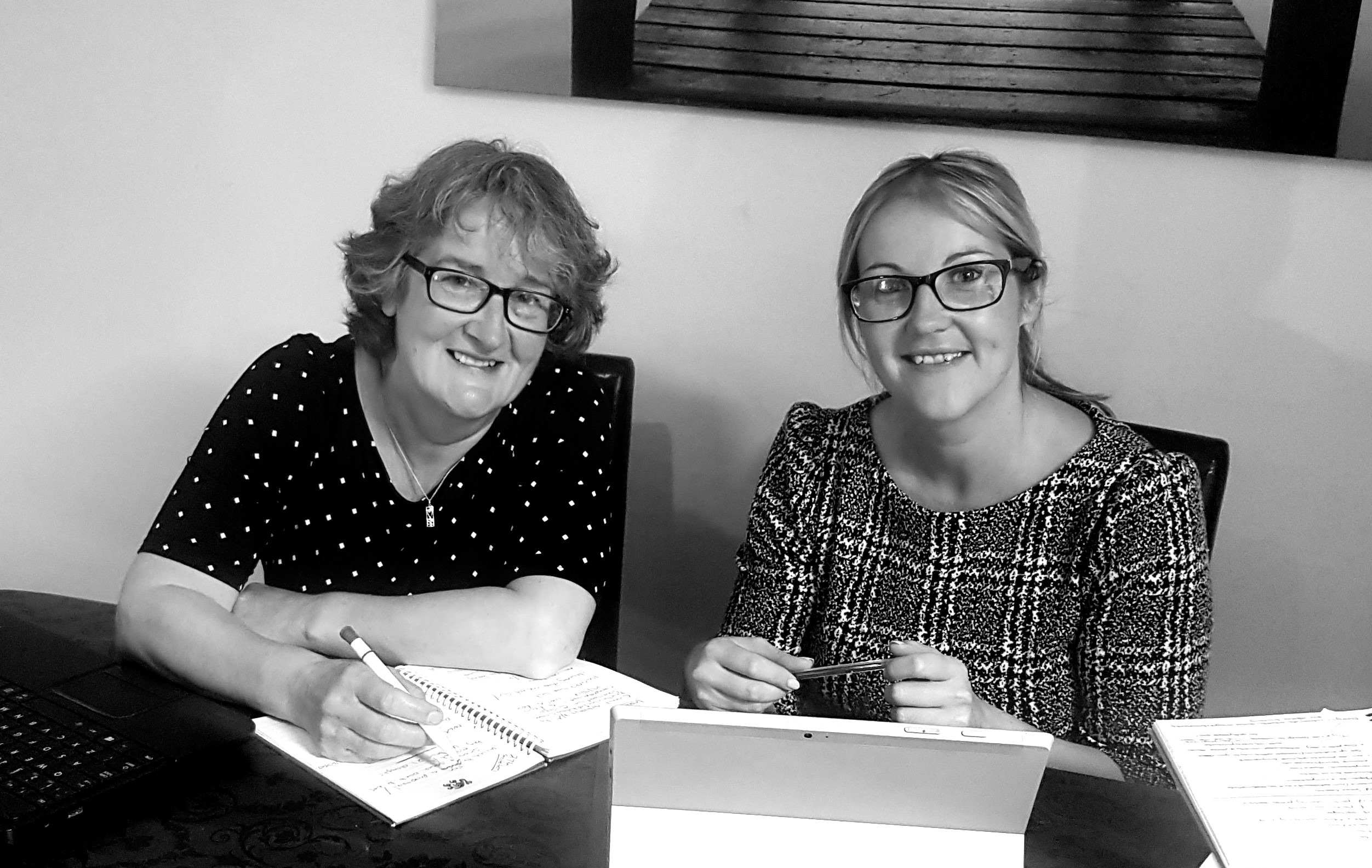 Mother and daughter team at Martin & Jones Marketing- Janet Jones and Ruth Martin
