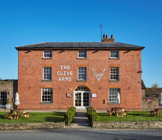 The Clive Arms in Bromfield