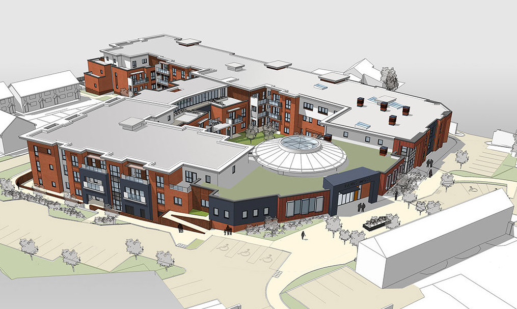 The development aims to revitalise medical provision in Whitchurch