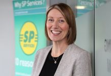 Kate Slack, the new Director of Sales and Marketing at SP Services (UK)