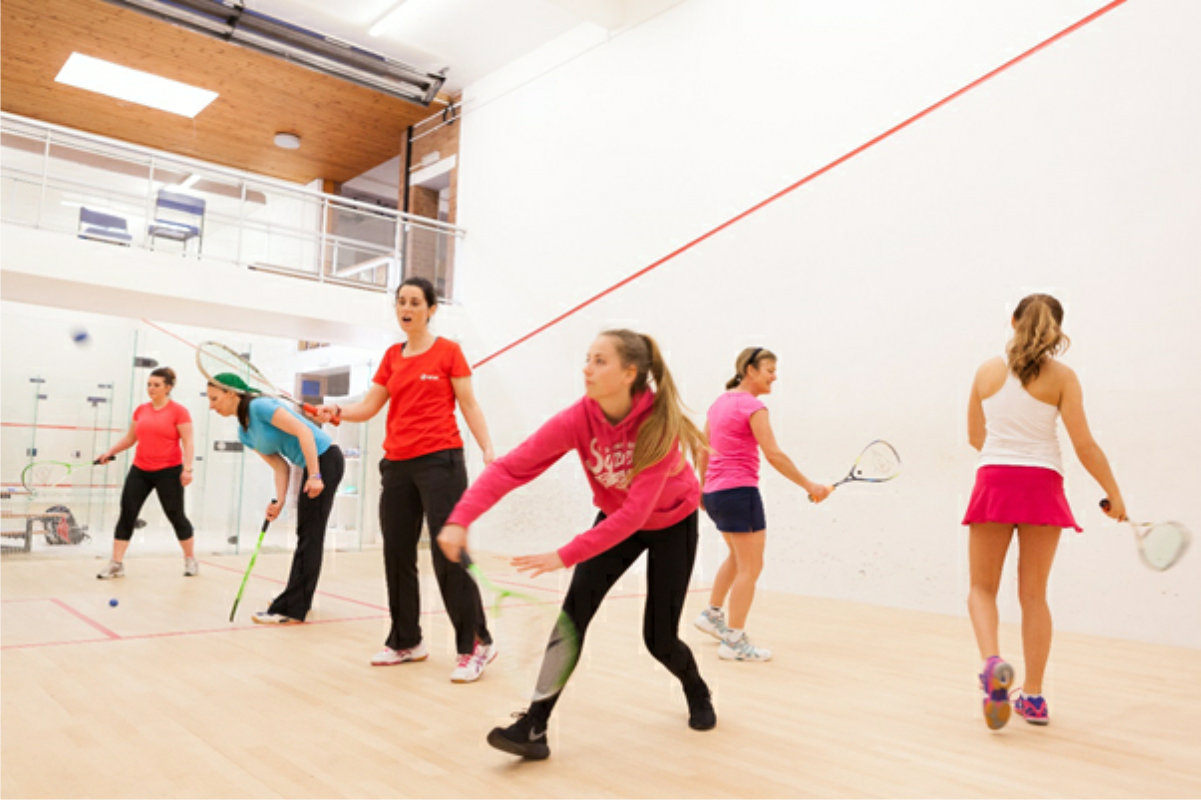 Shrewsbury Squas Club - Ladies taster sessions