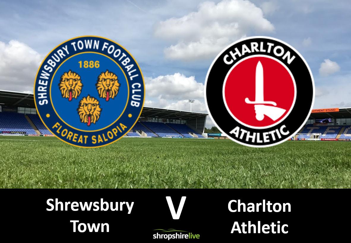 Shrewsbury Town v Charlton Athletic
