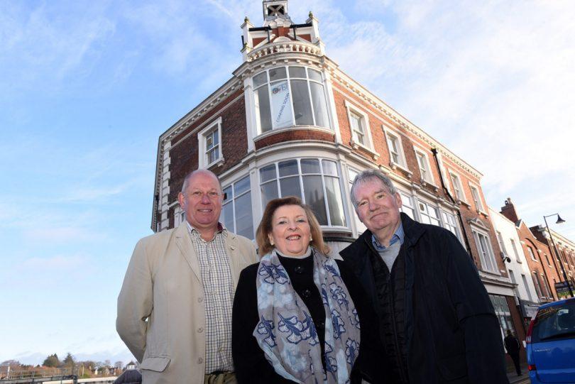Glenn Chard (Investor), Fiona Hunter and Ray Hughes (both Directors at Wellington Orbit)
