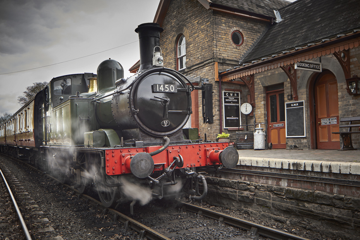 SVR's locomotives are joining the fun, with interactive storytelling sessions and an on-train library coach. Photo: Severn Valley Railway