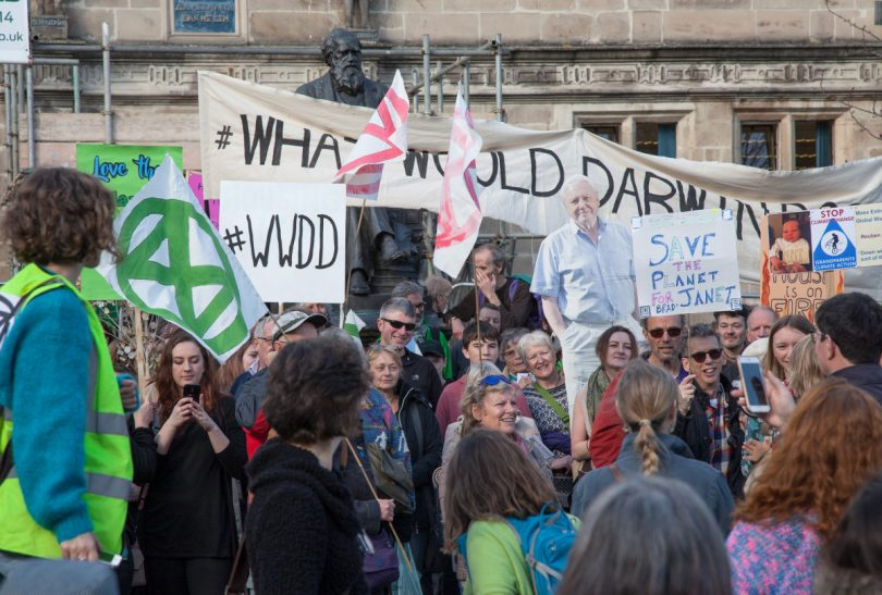 Over 200 people took part in the march on Saturday