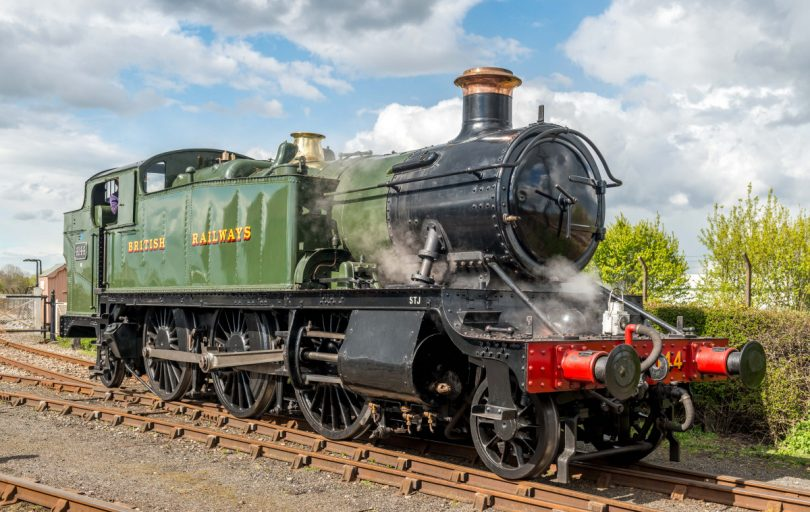 One of the visiting locomotives a GWR Large Prairie No. 4144. Photo: Clive Hanley