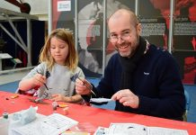 There's flight themed fun for families at RAF Museum Cosford this half-term. Photo: ©Trustees of the Royal Air Force Museum