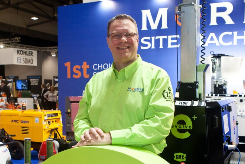 Allan Binstead, Morris Site Machinery Managing Director