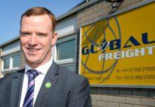 Anton Gunter, Managing Director at Global Freight Services Ltd