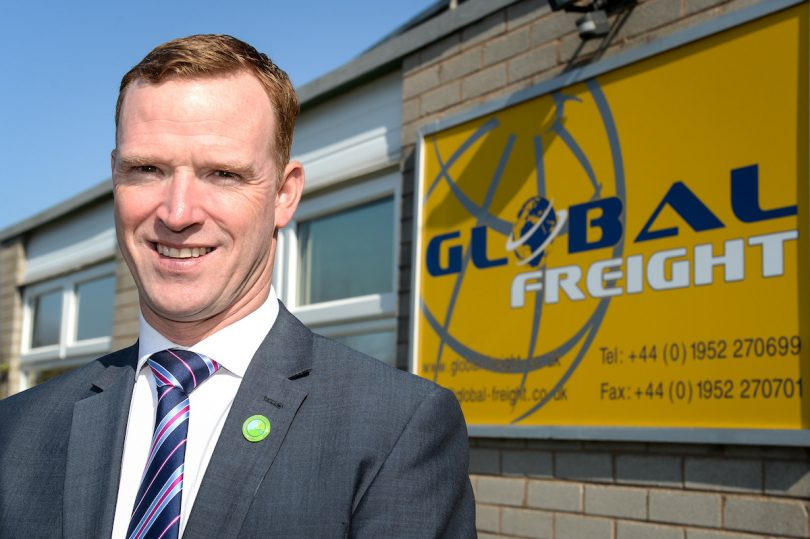 Anton Gunter, Managing Director at Global Freight Services Ltd