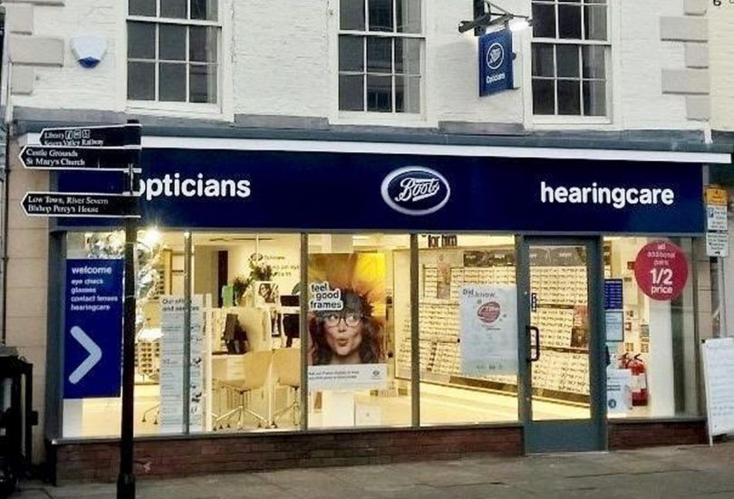 ec1a7bc53328 Boots Opticians is the latest national retailer to open on Bridgnorth s  High Street