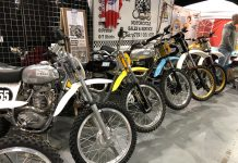 Some of the classic bikes on display. Photo: Mortons Media Group