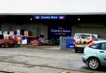 Carrs Billington has opened the Ludlow Country Store after completing the letting of a modern retail warehouse in the town