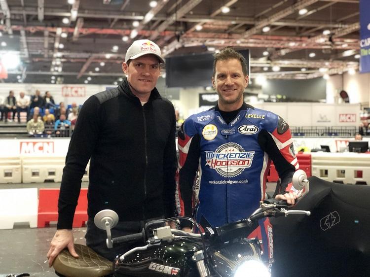Dougie Lampkin and Neil Hodgson