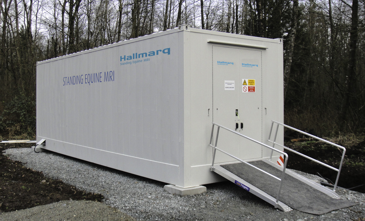 The Hallmarq MRI system, which will be operational by April
