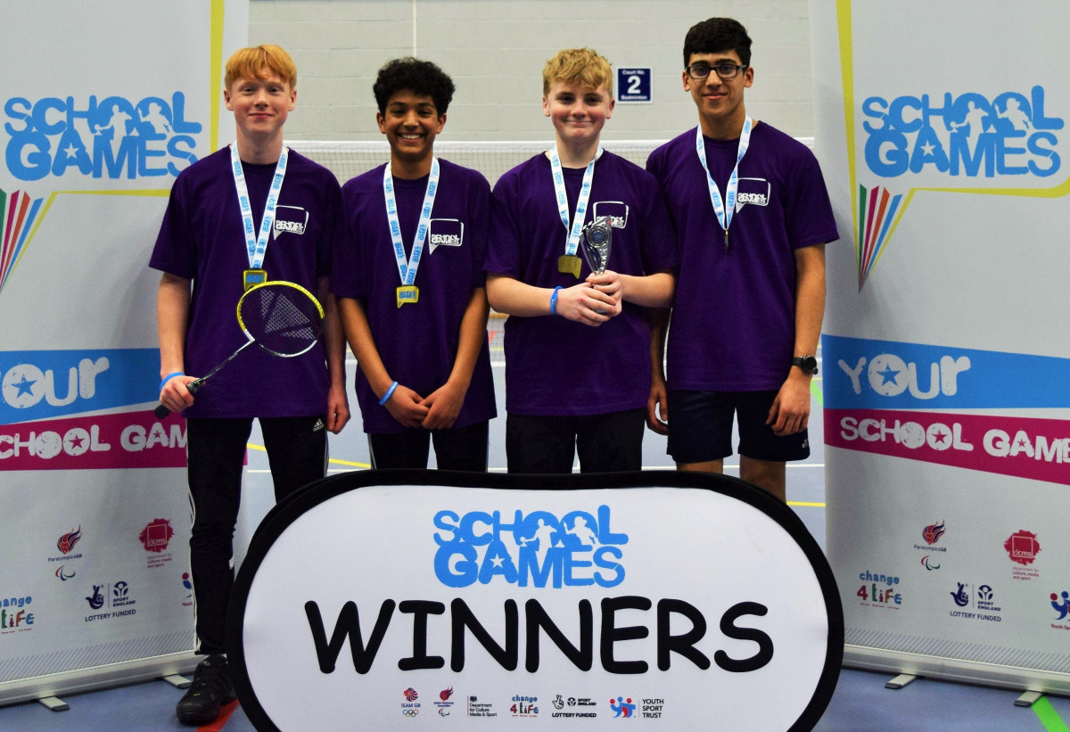Haberdashers Adams, winners of the key stage four boys' competition