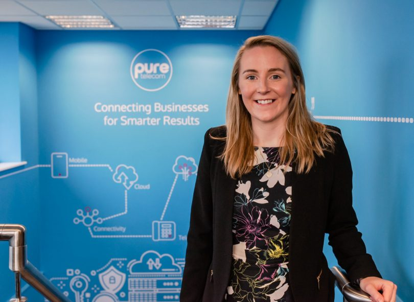 Kate Oakley has joined the team at Pure Telecom as Marketing Manager