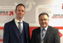 Matthew Small, Commercial and Financial Director and James Cavan, Sales Director