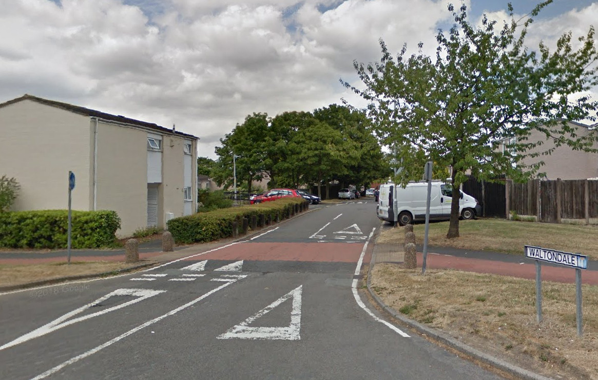 The incident took place on Waltondale in Woodside. Image: Google Street View