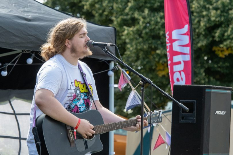 Young and emerging musicians are being sought to get a chance to perform on The Launchpad stage at this year's Shrewsbury Folk Festival