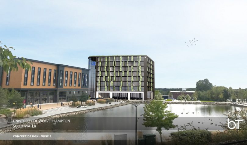 The council has identified a potential site overlooking one end of Southwater's lake