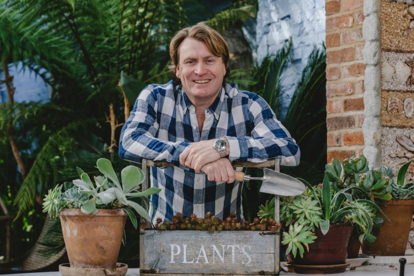 David Domoney from ITV's Love Your Garden is appearing at this year's show