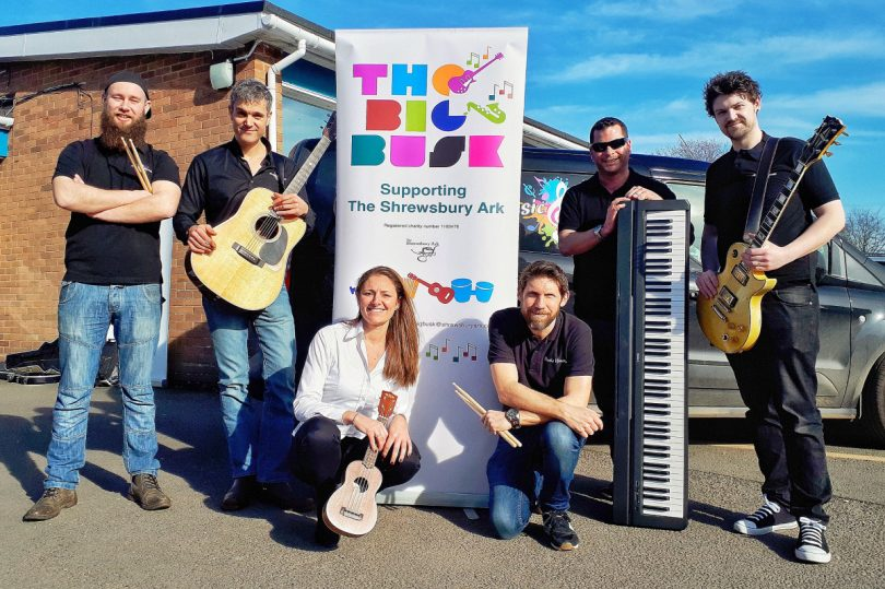 """The Big Busk's popular, free """"try-it-out"""" music room will be run by Music Heroes"""