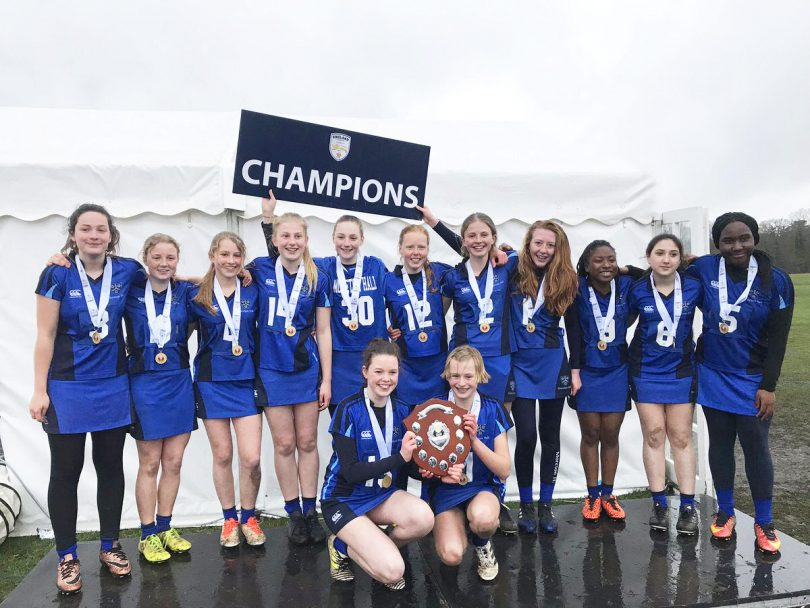Moreton Hall Under 14s Lacrosse Team are the number one team in the country for their sport having recently won the national championships