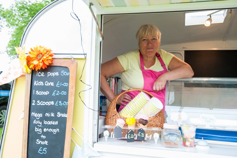 Pat Parkes, Owner of Shropshire Ice Cream