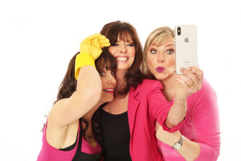 Josephine Partridge, Vicki Michelle and Julie Coombe will start in 'Hormonal Housewives' at Oakengates Theatre