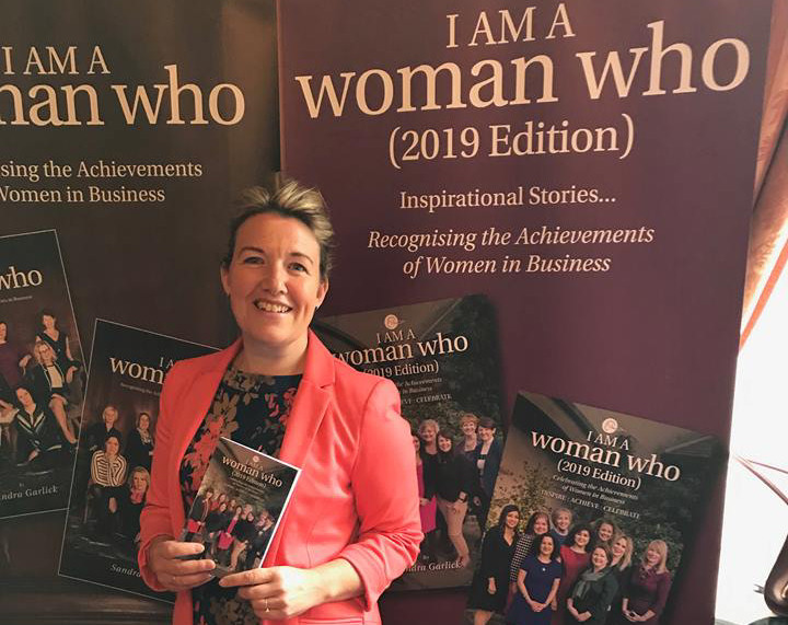 Teresa Boughey, CEO and founder of Jungle HR and Jungle Diversity with the book