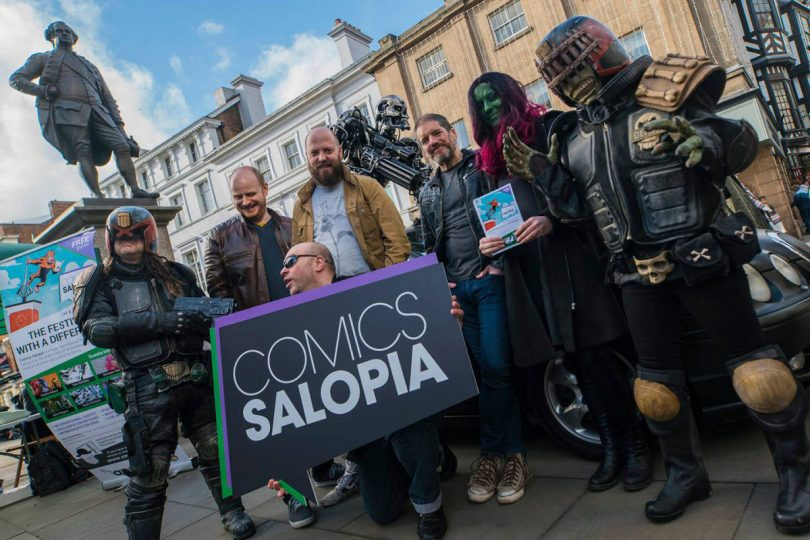 Comics Salopia takes place on the first weekend in June