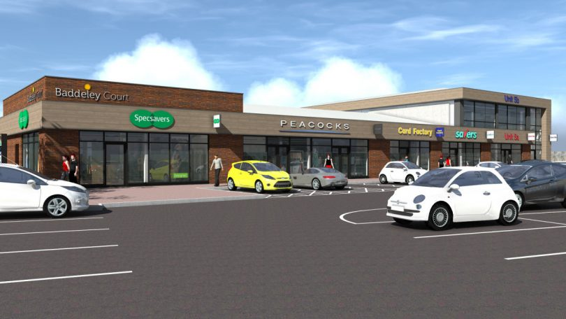 How the Baddeley Court retail development will look