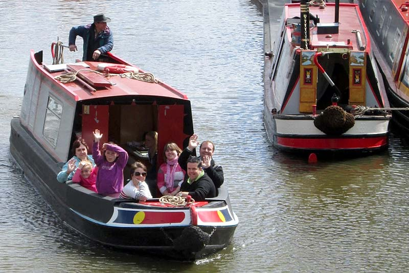 Boat trips will be held as part of the popular Norbury Canal Festival