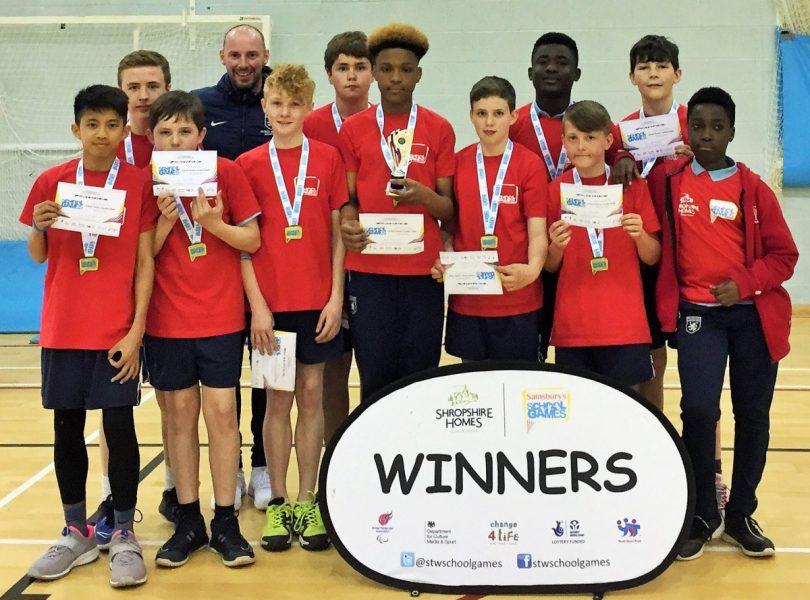 The winning Charlton School team