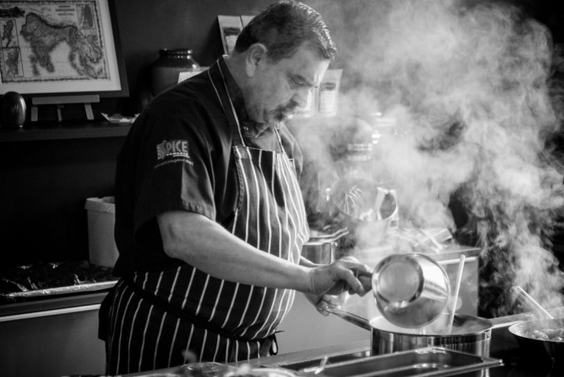 Cyrus Todiwala will be taking to the stage to give demonstrations
