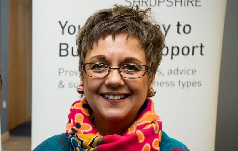 Emma Chapman, Marches Growth Hub Shropshire manager