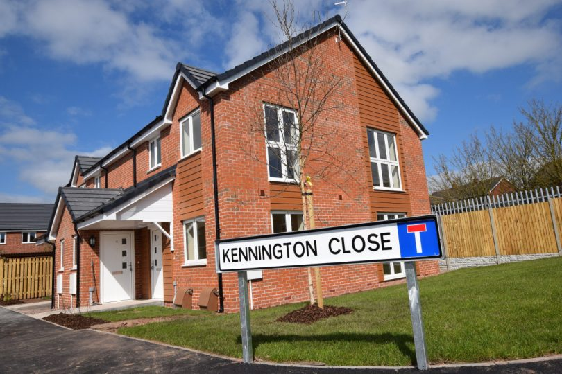 The Wrekin Housing Trust has created 20 homes for affordable rent at Kennington Close