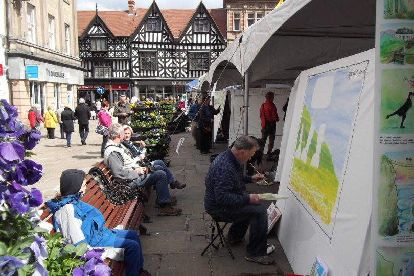 The traditional 'Big Boards in The Square' will be in full swing on Saturday 27 April. Photo: Tim King