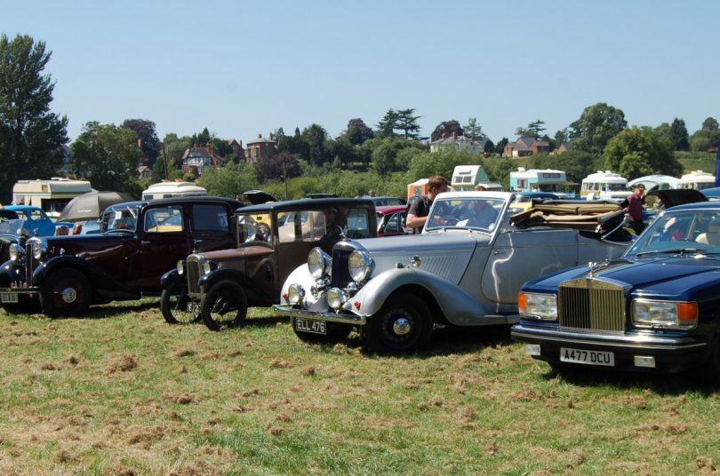 The show is organised by the Mid Shropshire Vintage Club