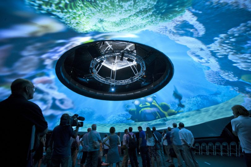 Igloo Vision develops projection domes and software to create 360° immersive virtual reality experiences
