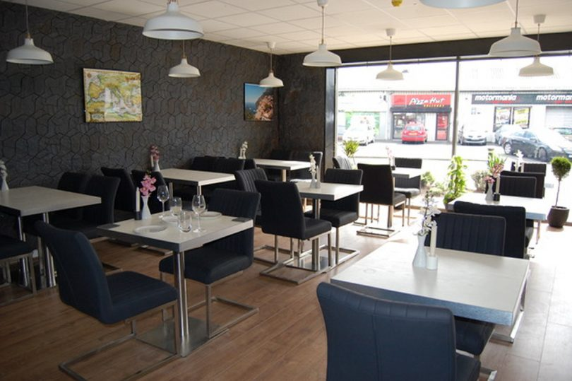 An interior view of the new Mediterranean restaurant which is opening in Shrewsbury