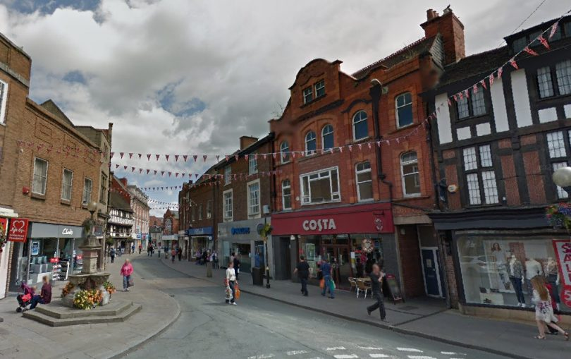 Oswestry town centre. Photo: Google Street View