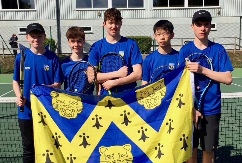 The Shropshire boys team which took part in the 14U County Cup