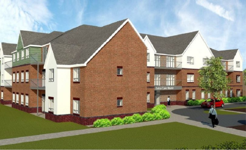 The 70 apartment extra care scheme will be built in Stanton Road, Shifnal